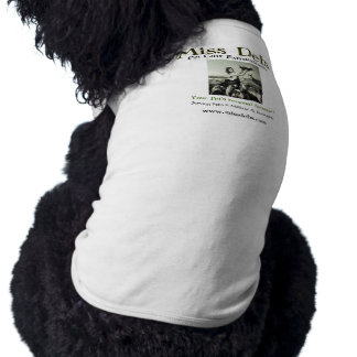 Haustier-Sorgfalt-Hundeshirt 2 Fräulein-Debs T-Shirt