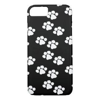 Haustier-Tier-Tatzen-Drucke iPhone 7 Hülle