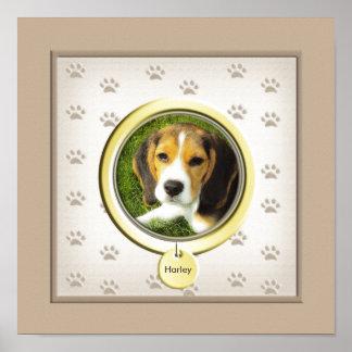 Haustier-Verlust-Denkmal Poster