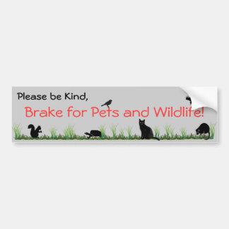 Haustiere u. wild lebende Tiere Autoaufkleber