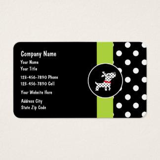 Haustierpflege Businesscards Visitenkarte