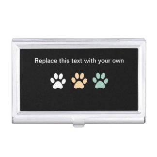 Haustierpflege-Visitenkarte-Kasten Visitenkarten Etui