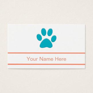 Haustierpflege-Visitenkarten Visitenkarte