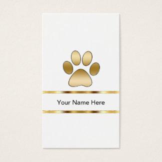 Haustierpflege-Visitenkarten Visitenkarten