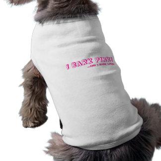 Haustiert-shirt - ICH STREIFE ROSA ab! ,… UND ICH  Shirt