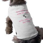 Haustiert-shirt Tatzen für walkin für Heilung Hundetshirt