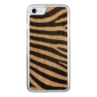 Haut des Zebras Carved iPhone 8/7 Hülle