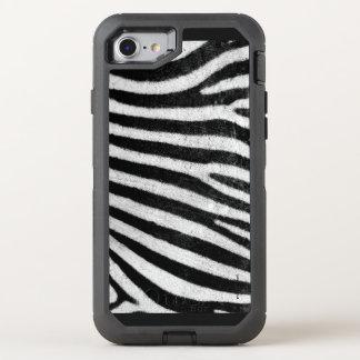 Haut des Zebras OtterBox Defender iPhone 8/7 Hülle
