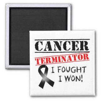 Haut-Krebs-Abschlussprogramm Kühlschrankmagnete
