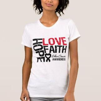 Haut-Krebs-Hoffnungs-Liebe-Glaube Hemd
