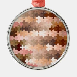 Haut-Ton-Laubsägen-Stücke Silbernes Ornament