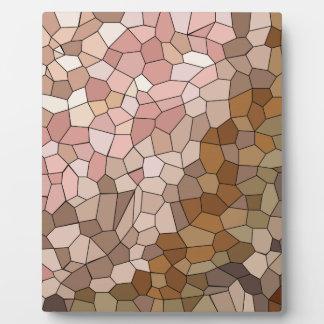 Haut-Ton-Mosaik Fotoplatte