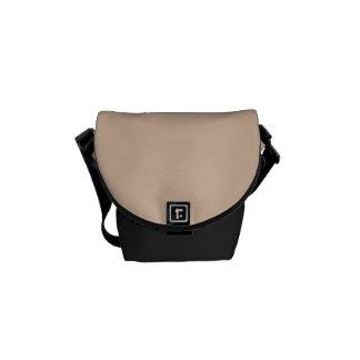 Haut-Ton-Sand-neutrale FarbTrend-Raum-Schablone Kurier Taschen