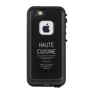 Haute Cuisine-lustiger französischer Koch LifeProof FRÄ' iPhone SE/5/5s Hülle