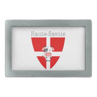 Haute-Savoie Kuh-Gürtelschnalle Rechteckige Gürtelschnalle