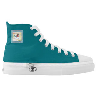Hautecouture Zipz hohe Spitzen Hoch-geschnittene Sneaker