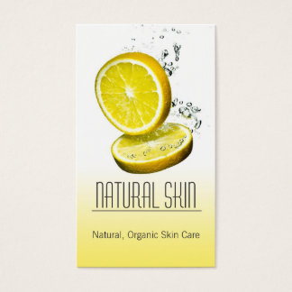 Hautpflegeberater Beautician-Visitenkarte Visitenkarte