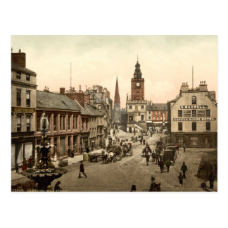 Hautpstraße, Dumfries, Schottland Postkarte