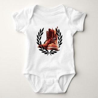 Hautstiefel Baby Strampler
