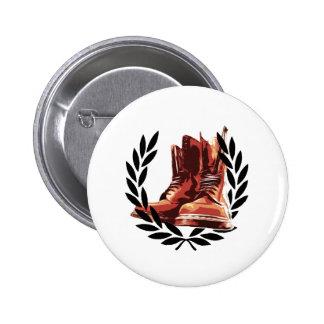 Hautstiefel Runder Button 5,1 Cm