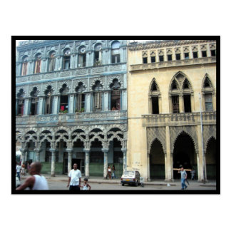 Havana-Fassaden Postkarte