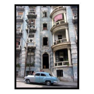 Havana-Fassadenauto Postkarte