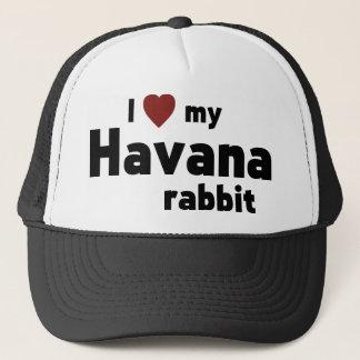 Havana-Kaninchen Truckerkappe