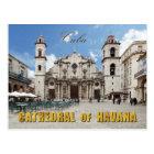 Havana-Kathedrale des 18. Jahrhunderts, Havana, Postkarte