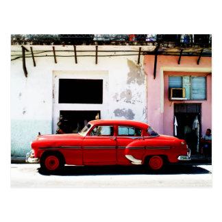 Havana-Klassiker-Auto Postkarte