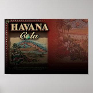 Havana-Kolabaum-Plakat Poster