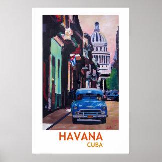 Havana Kuba - Retro Art-Plakat II Poster
