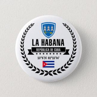 Havana Runder Button 5,1 Cm