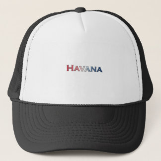 Havana-Text-Logo Truckerkappe