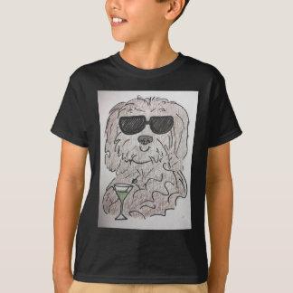 Havanese Hund Martini T-Shirt