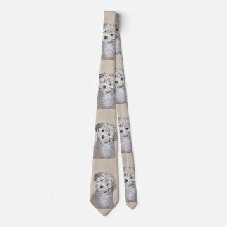 Havanese Welpe Bedruckte Krawatten