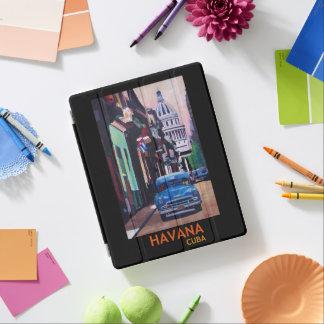 Havanna Kuba Retro Plakat iPad Hülle