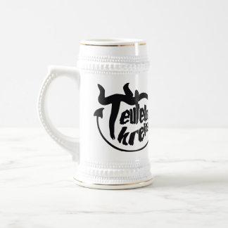 Have A Beer With Teufelskreis (Black Logo Edition) Bierglas