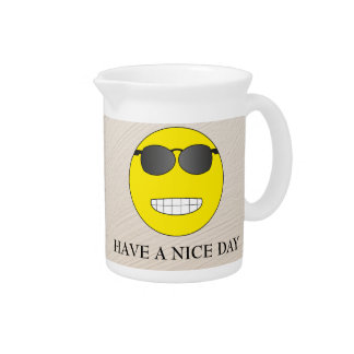 Have a nice day getränke pitcher
