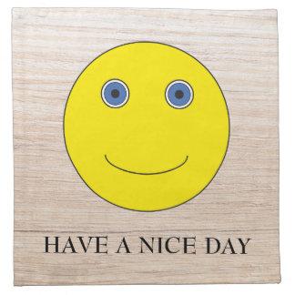 Have a nice day serviette