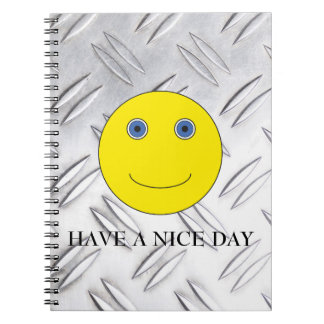 Have a nice day spiral notizblock
