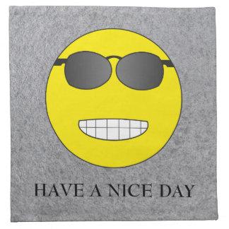 Have a nice day stoffserviette