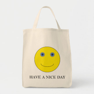 Have a nice day tragetasche