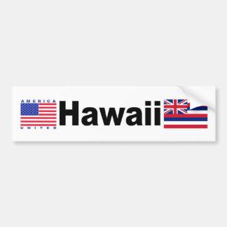 Hawaii Autoaufkleber
