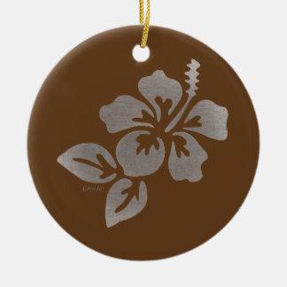Hawaii-Blume Keramik Ornament