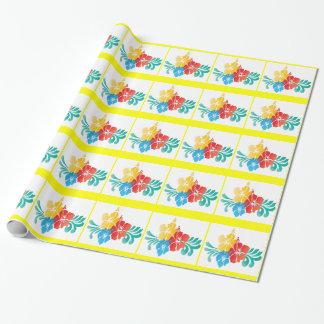 Hawaii-Hibiskus-Blumen Geschenkpapier