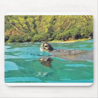 Hawaii Honu Mousepads