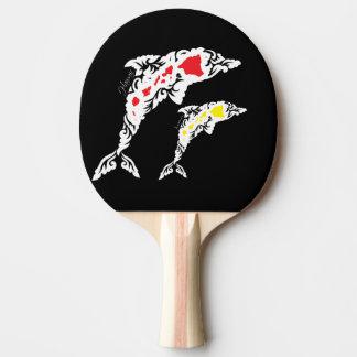 Hawaii-Insel-Delphine Tischtennis Schläger