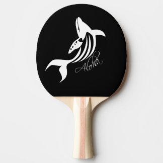Hawaii-Insel-Wal Tischtennis Schläger