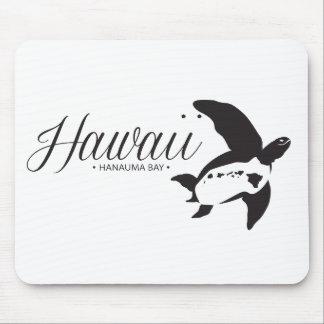 Hawaii-Inseln Honu Schildkröte Mauspad