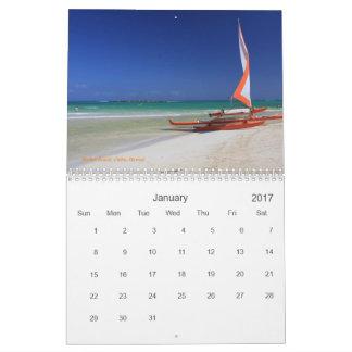 Hawaii-Kalender 2017 Abreißkalender